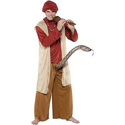 Rasta Imposta Snake Charmer King Cobra Flöte Erwachsene Herren Halloween Kostüm