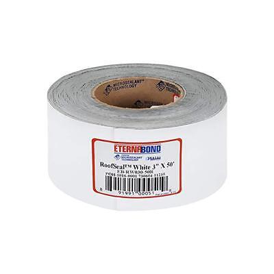 "3"" x 50 ft WHITE Eternabond Roof Leak Repair Tape Patch Roof Seal - 50 Feet"