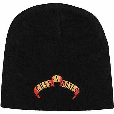 Guns N' Roses Appetite For Destruction Logo Beanie Cap Winter Hat