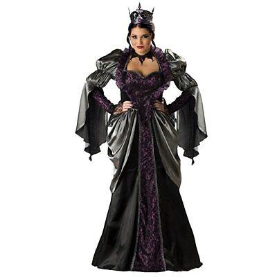 Incharacter Wicked Queen Plus Size Fairytale Adult Womens Halloween Costume - Wicked Queen Costume Plus Size