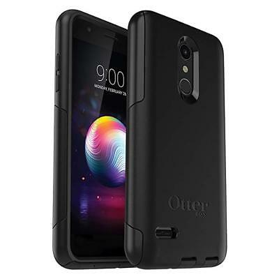 Original OtterBox Commuter Series Cell Phone Drop Protection Case LG K30 - Black ()