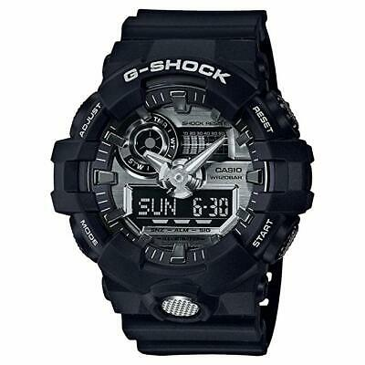 Casio G-SHOCK GA710-1A Black Super Illuminator Analog Digital 200m Men's Watch comprar usado  Enviando para Brazil