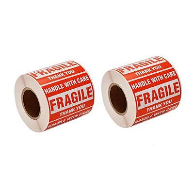 2 X 3 Fragile Handle With Care Stickers Labels 500 Stickers Per Roll