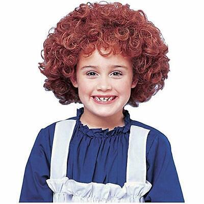 Costume Culture Orphan Annie Rot Kinder Perücke Halloween Kostüm Zubehör 21057 ()