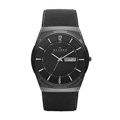 Skagen Men's 'Aktiv' Quartz Titanium and Stainless Steel Dress Watch SKW6006