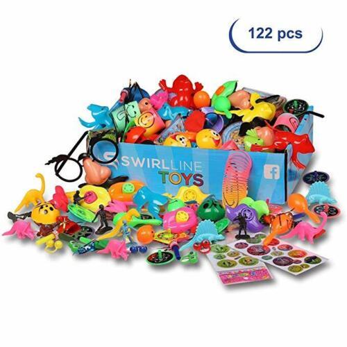 Party Favors Kids Pinata Filler - 122 PCS Carnival Prizes Toys Bulk Assortment