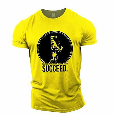 Fitness T-Shirt Mens Muscle Clothing Pattern Unique Soft Feeling Cotton Material