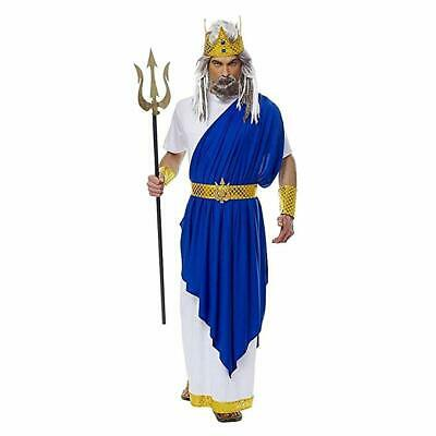 Mens Greek Halloween Costumes (Costume Culture Neptune Poseidon King Greek Adult Mens Halloween Costume)