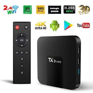 ★ TANIX TX3 MINI ULTRA 4K ★ ANDROID 7 TV BOX ★ IPTV ★ KODI