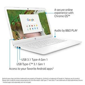HP Chromebook 14 po Intel Celeron n3350 4gb Ram/16gb disque dur