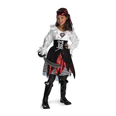 Pirate Lass Kids Child Costume For Girls | Disguise 208 - Pirate Costume For Kids