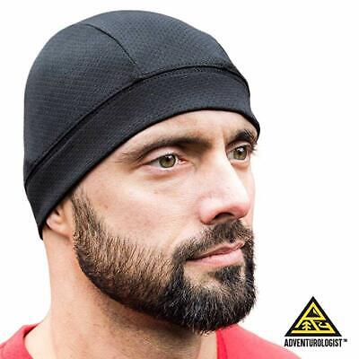 Men Woman Skull Cap Quick Dry Sports Sweat Beanie Hat Great Cycling Dome Caps - Polyester Dome