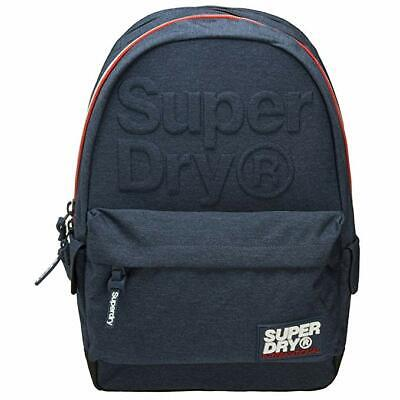 Superdry Lineman Montana Backpack Dark Navy Marl # M91011DP