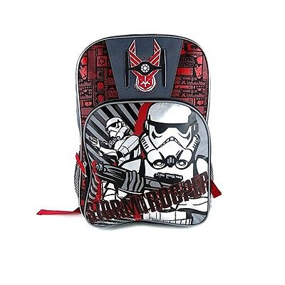 Star Wars The Force Awakens 16 inch Backpack. Storm Trooper. Great for School.](Star Wars Backpacks For School)