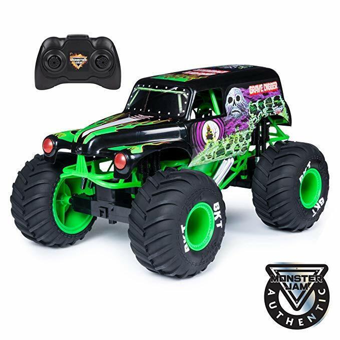 Hot Wheels Monster Jam 1:10 Scale Diecast Vehicle - Giant Gr