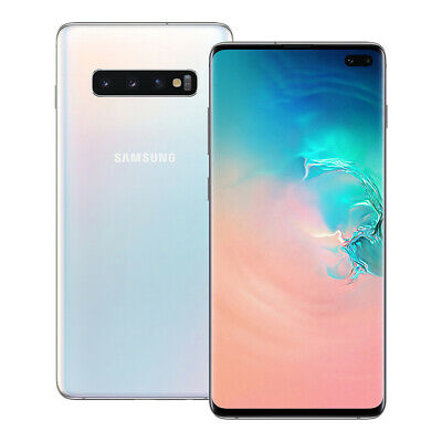 "NUEVO Samsung Galaxy S10 Plus (SM-G975F/DS) 6.4"" 128GB Desbloqueado BLANCO"