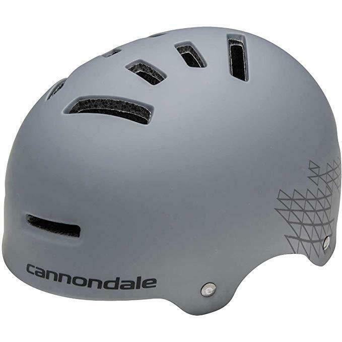 Cannondale Ward Charcoal Grey/Gray Skateboarding Biking - Ad