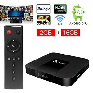 ★ TANIX TX3 ULTRA 4K ★ ANDROID 7.1 TV BOX ★ IPTV ★ KODI 17.6 ★
