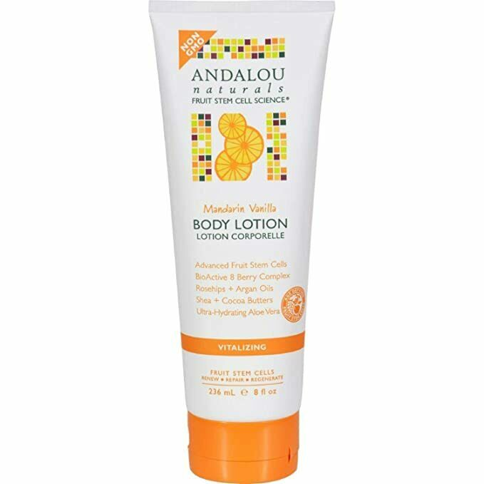 Body Lotion Vanilla Mandarin - Andalou Naturals - 8 oz - Lot