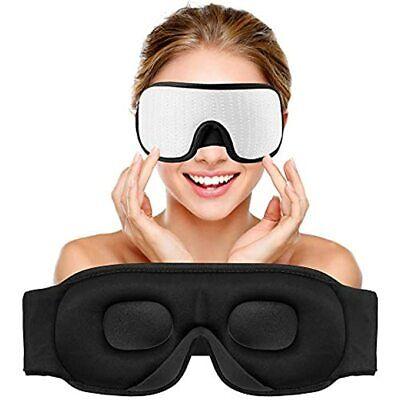 Sleep Eye Mask with Blockout Light - Memory Foam 3D Contoure