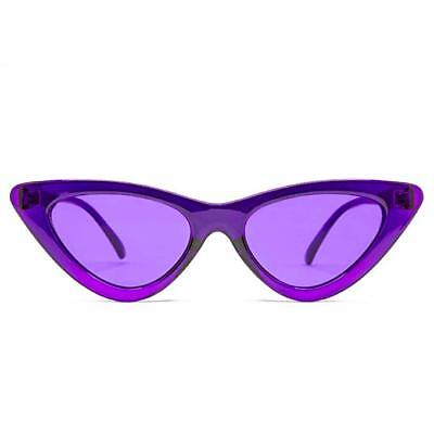 GloFX Cat Eye Color Therapy Glasses - Viole - Chakra Mood Enhancing Colored (Eye Color Lens)