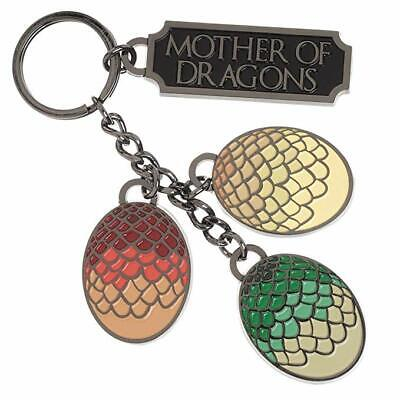 """GAME OF THRONES  """"MOTHER OF DRAGONS KEY CHAIN"""" BIOWORLD NEW IN PACKAGE"""