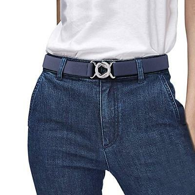 Womens Invisible Belt Elastic Adjustable No Show Web Belt Metal Buckle Belt