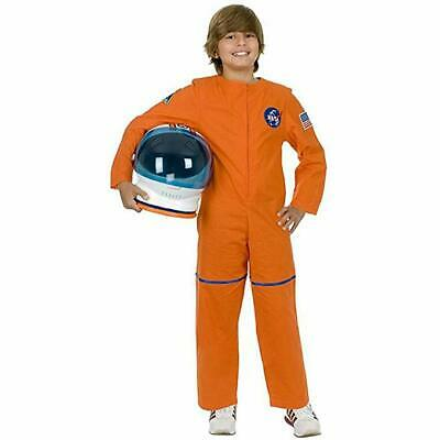 Charades Astronaut Flug Anzug Nasa Orange Kinder Halloween - Astronaut Kind Orange Kostüme