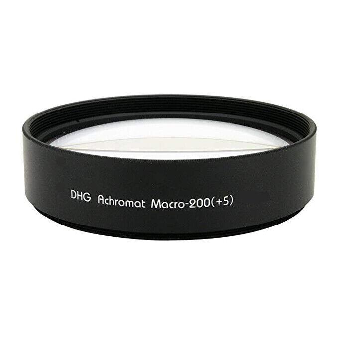 Marumi 49mm 49 DHG Macro +5 200 Achromat Achromatic Close up Lens made in Japan