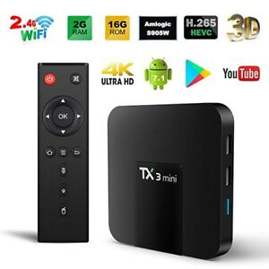 ★ TANIX TX3 ULTRA 4K ★ ANDROID 7  TV BOX ★ IPTV ★ KODI★