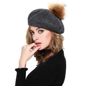 Français Beret Hat - fourrure