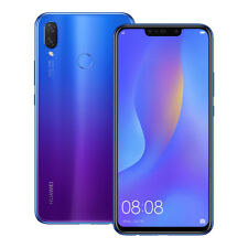 """NEUF Huawei nova 3i (INE-LX2) 6.3"""" 4 Go / 128 Go LTE Dual SIM Débloqué VIOLET"""
