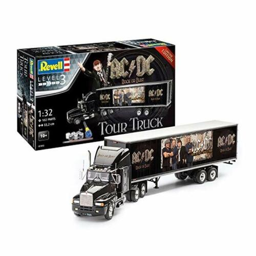 Revell AC/DC Rock & Roll Tour Truck Plastic Model Kit 1:32 Scale Rock or Bust!
