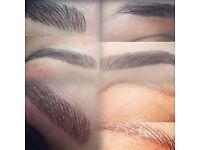Microblading eyebrows, eyeliner & lip blush/liner