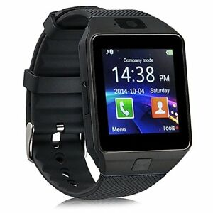 2018 New Smart Watch Phone SIM Memory Card Bluetooth Android & i