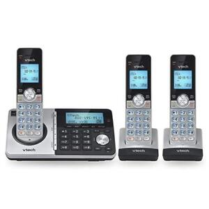 VTech 3-Handset DECT 6.0 Cordless Phone with Answering System