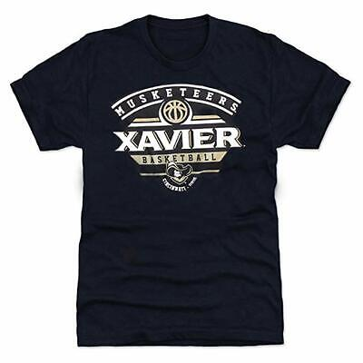 Colosseum Men's Xavier University Musketeers Basketball Fan Tee Size XL New Xavier University Basketball