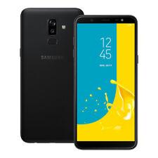 """NEUF Samsung Galaxy J8 (SM-J810Y/DS) 6.0"""" 32 Go LTE Dual SIM Débloqué NOIR"""