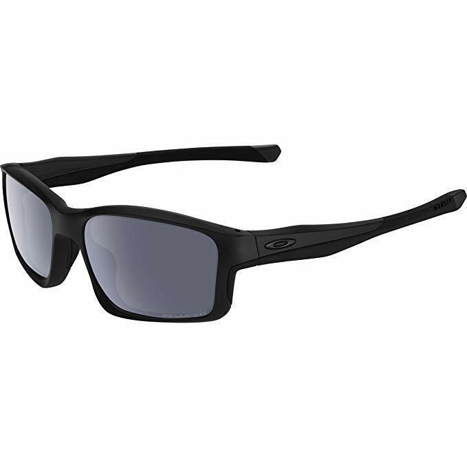Oakley Chainlink OO9247-15 Matte Black Grey Polarized Lens Sunglasses