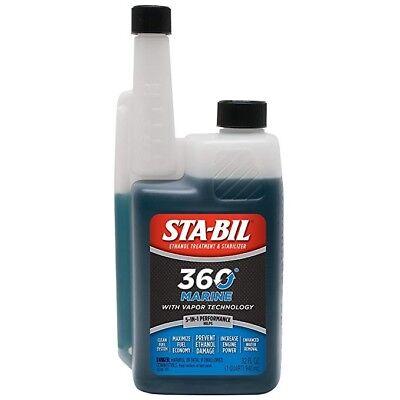 Sta-Bil 22240 360 Marine Fuel Stabilizer Formula 32oz with Vapor Technology