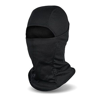 Balaclava Ski Mask, Winter Fleece Windproof Face Mask for Men and Women Black