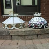 Faux-Tiffany Lamps