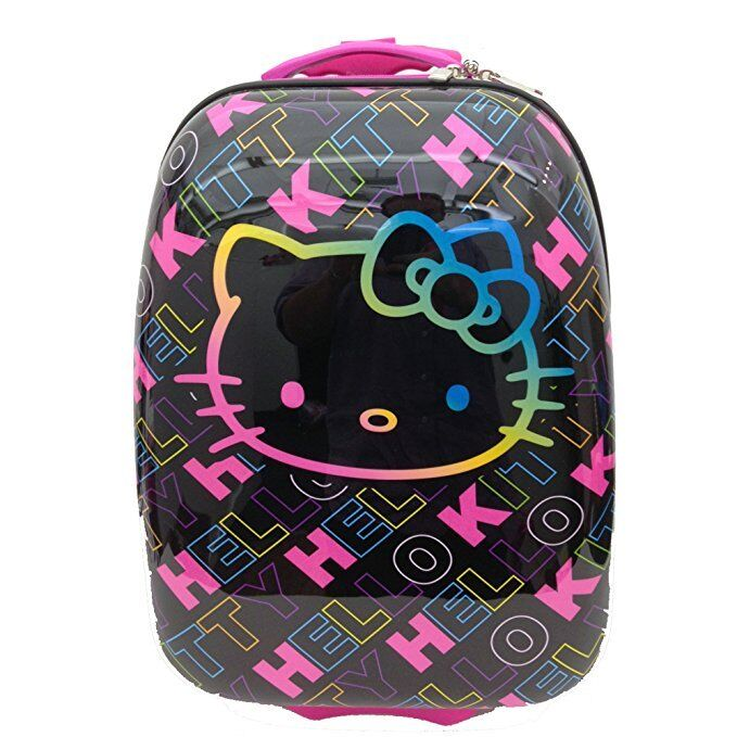 Licensed Hello Kitty Signature Hard Shell ABS Trolley Carry