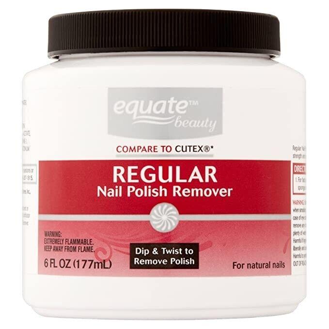 Equate 6 Fl Oz Nail Polish Remover Brand New