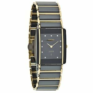 Rado Men's R20282732 Integral Jubile Quartz Ceramic Watch