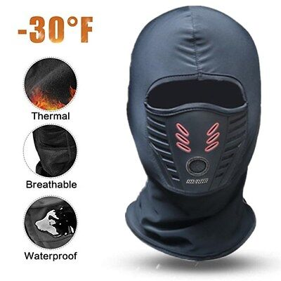 Balaclava Face Mask for Cold Weather Fleece Ski Running Gear Mask Neck Warmer Cold Weather Running Gear