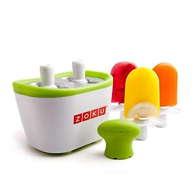NEW IN BOX Zoku Quick Pop Maker - Create 6 Custom Frozen Popsicles in 7 Minutes!