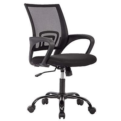 Ergonomic Mesh Computer Office Desk Midback Task Chair Wmetal Base One Pack