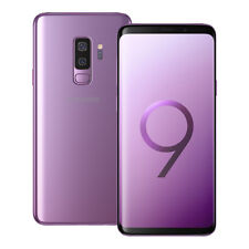 "NEUF Samsung Galaxy S9 Plus SM-G965F 6.2"" 128 Go LTE Dual SIM Débloqué VIOLET"