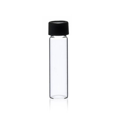 2 Dram Clear Glass Vials 17mm X 60 Mm Wcaps 144 Pcs